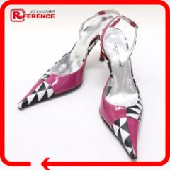 あす着 DOLCE&GABBANA ドルチェアンドガッバーナ パンプス  レディース ピンク系 靴 アパレル