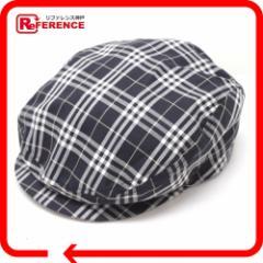 あす着 BURBERRY バーバリー ハンチング チェック柄 GOLF ゴルフ 帽子 レディース