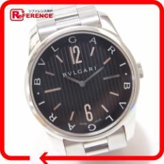あす着 BVLGARI ブルガリ 腕時計 ソロテンポ 腕時計 SS シルバー メンズ