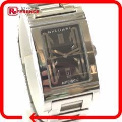 あす着 BVLGARI ブルガリ RT45S RETTANGOLO レッタンゴロ 腕時計 SS シルバー メンズ