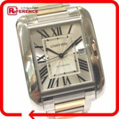 あす着 CARTIER カルティエ W5310006 タンク アングレーズ XL TANK ANGLAISE 腕時計
