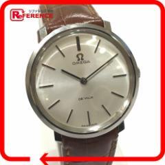 あす着 OMEGA オメガ デ・ビル DE VILLE 腕時計 SS/プラスチック シルバー メンズ