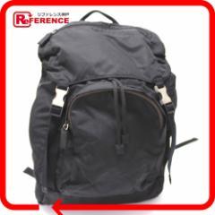 あす着 PRADA プラダ メンズ レディース リュック・デイパック ナイロンキャンバス ブラック リュックサック 鞄