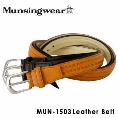マンシングウェア Munsingwear ベルト MUN-1503 【 レザー メンズ 】【 マンシング 】