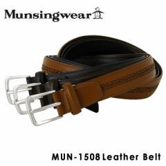 マンシングウェア Munsingwear ベルト MUN-1508 【 レザー メンズ 】【 マンシング 】