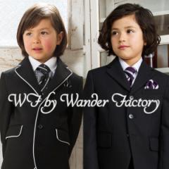 入学式 スーツ 男の子 5点セット WANDER FACTORY 110cm・120cm・130cm 子供服 フォーマル キッズ 卒園式 七五三 冠婚葬祭