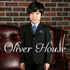 入学式 スーツ 男の子 ブラックフォーマル 5点セット 子供服 OLIVER HOUSE オリバーハウス 110cm・120cm・130cm フォーマル