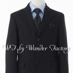 卒業式 スーツ 男の子 ブラックフォーマル 5点セット WF by WANDER FACTORY 140cm・150cm・160cm・170cm 子供服 フォーマルスーツ