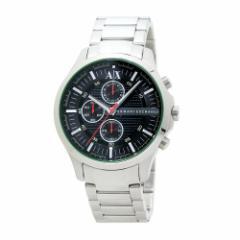 INT-58Armani Exchange/アルマーニ・エクスチェンジ AX2163 クロノ メンズ ブラック  時計/ウォッチ
