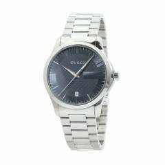 INT-758グッチ YA126441 G-タイムレス メンズ グレー  時計/ウォッチ