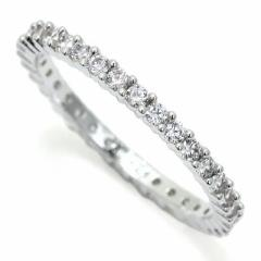 INT-277スワロフスキー リング Vttore White Ring 【WHITE/RHS】