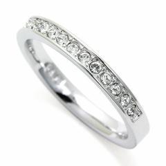 INT-279スワロフスキー リング Rare Ring  CRY/RHS