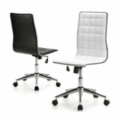 【送料無料】レザーチェア おしゃれ ロッキング PUレザー生地 パソコンチェア 椅子 [100-SNC027]