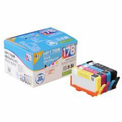 HP リサイクルインク HP178 CR281AA対応 4色パック [JIT-H1784P]