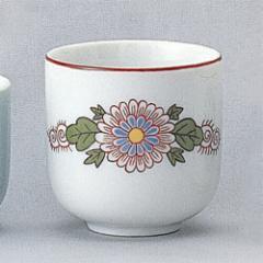 仏具 湯呑(赤絵) 京 [京] 供養 お盆 お彼岸 仏具