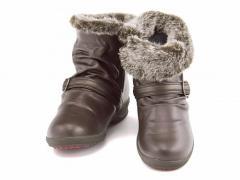 コンフォートシューズ ウィンターブーツ スニーカー ぺたんこ 歩きやすい レディース 美脚 発熱 防水 防滑 雨 雪 靴 4E 幅広 カジュアル