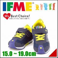 イフミー 男の子 キッズ 子供靴 スニーカー つまずきを防止 土踏まずを鍛える IFME 30-5710 ネイビー