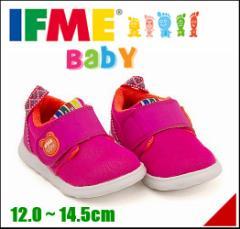 イフミー 女の子 男の子 キッズ ベビー 子供靴 スニーカー イフミーライト ストラップ IFME 22-7003 ピンク