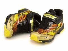 スーパースター バネのチカラ 男の子 キッズ 子供靴 ランニングシューズ スニーカー EE SUPERSTAR K737 ゴールド