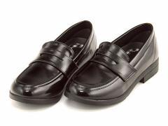 コインローファー フォーマルシューズ 女の子 キッズ 子供靴 シュープ CHOOP CPJ104 ブラック