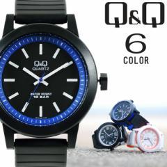 シチズン Q&Q メンズ レディース ユニセックス 腕時計 カラーウォッチ 10気圧防水 海外限定モデル VR10J 選べる6カラー