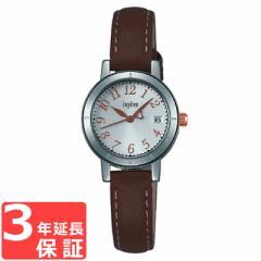 SEIKO セイコー  ALBA アルバ ingene アンジェーヌ カラーレザー ソーラー レディース 腕時計 AHJT419