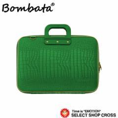ボンバータ PCバッグ ノートパソコン用ブリーフケース GD Medio Cocco Bombata ゴールド メディオコッコ 13インチ・A4 BA001-7 グリーン