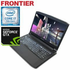 フロンティア ノートパソコン [Windows10 Core i7-7700HQ 4GB 500GB HDD GTX1050] FRNZHM170G E1 【新品】【FR】