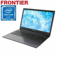 フロンティア  ノートパソコン [Windows10 Pentium 4415U 4GB  500GB HDD 無線LAN] FRNLKP441 E1【新品】【FR】