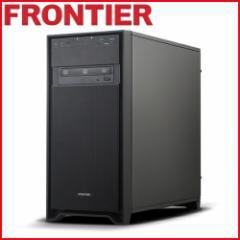 フロンティア デスクトップパソコン [Windows10 Core i5-7400 16GB 1TB HDD 256GB SSD NVMe M.2 GTX1060 3GB] FRGEZ270 E5【新品】【FR】