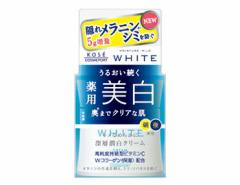 モイスチュアマイルド ホワイト クリーム b 55g コーセー【医薬部外品】 美白クリーム 美容クリーム 美白有効成分 高保湿