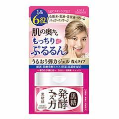 コーセー 黒糖精 うるおい弾力ジェル 90g 美容ジェル オールインワンジェル 復元ジェル 弱酸性 美容液 ジェルパック