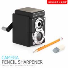 【KIKKERLAND】カメラペンシルシャープナー CAMERA PENCIL SHARPENER えんぴつ削り