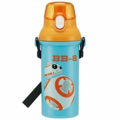 スターウォーズ 水筒 / 食洗機対応直飲みプラワンタッチボトル 480ml スターウォーズ BB-8 ボーダー[SKA]