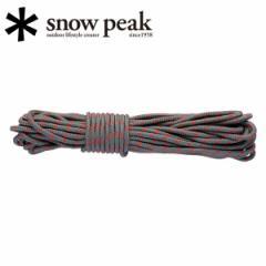 スノーピーク snowpeak テント/シェルター/グレーロープPro. 4mm 10mカット/AP-021 【SP-TACC】