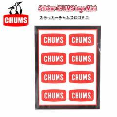 チャムス chums Sticker CHUMS Logo ステッカーチ...