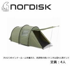 ノルディスク NORDISK Reisa 4(レイサ 4) テント ドーム型 4人用 キャンプ アウトドア Dusty Green 【TENTARP】【TENT】