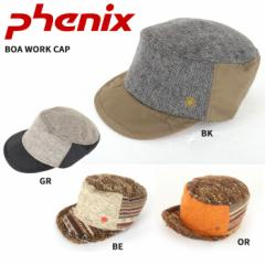 PHENIX フェニックス 帽子 BOA WORK CAP PH268HW62 BE/BK/GR/OR