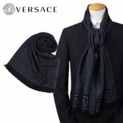 ベルサーチ マフラー ヴェルサーチ VERSACE メンズ ウール イタリア製 カジュアル ビジネス 0665 [12/27 追加入荷]