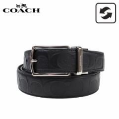COACH コーチ メンズ ベルト レザーベルト リバー...