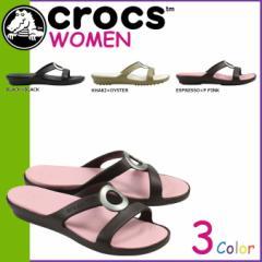 クロックス crocs レディース サンダル セアラ SA...