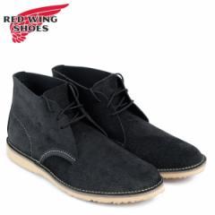 レッドウィング RED WING ブーツ チャッカ WEEKENDER CHUKKA Dワイズ 3323 レッドウイング メンズ ブラック
