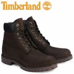 ティンバーランド ブーツ メンズ 6インチ Timberland 6INCH PREMIUM WATERPROOF BOOTS 防水 10001 ダークチョコレート [1/18 追加入荷]