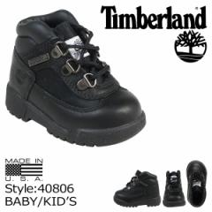 ティンバーランド Timberland ベイビー キッズ FIELD BOOTS TD ブーツ フィールドブーツ 40806 ブラック