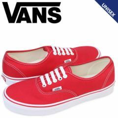 VANS オーセンティック スニーカー メンズ レディース バンズ ヴァンズ AUTHENTIC VN000EE3RED 靴 レッド [5/16 追加入荷]
