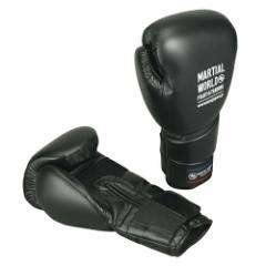 マーシャルワールド プロフェッショナルワークアウトグローブ ボクシンググローブ・12oz・黒 BG410-12-BK