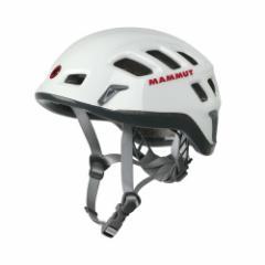 楽天スーパーSALE 10%OFF 9000円が8100円 MAMMUT マムート Rock Rider ロックライダー 登山クライミングヘルメット 2220-00130 white-sm