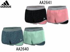アディダス:【レディース】蘭 リバーシブルショーツ【adidas スポーツ ランニング ショート パンツ】