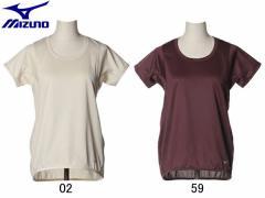 ミズノ:【レディース】半袖シャツ【MIZUNO スポーツ フィットネス 半袖 Tシャツ アウトレット セール】