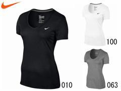 ナイキ:【レディース】Vネック レジェンド S/S Tシャツ【NIKE スポーツ フィットネス Tシャツ アウトレット セール】